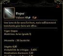 Dague grade 3: Acier