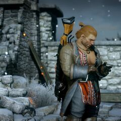 Varric meets the inquisitor