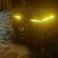 An ornate Orlesian treasure chest