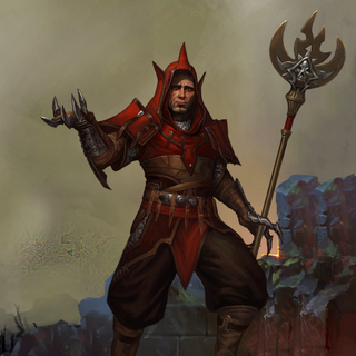 Artwork of Alexius in <i>Heroes of Dragon Age</i>