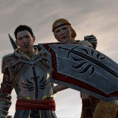 Ser Wesley and Aveline Vallen