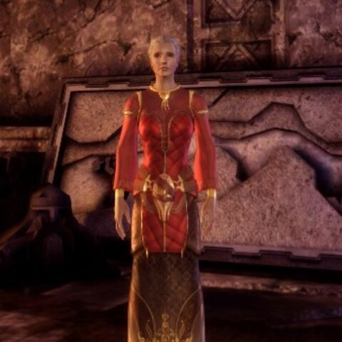 Senior Enchanter's Robes on female elves