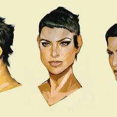 Cassandra concept art from <i><a href=