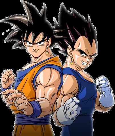 File:Goku and vegeta.png