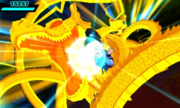 DB Fusions Saiyan Stabba Dragon Fist (Special Move - Pic 1)