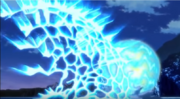 Goku beats Hit