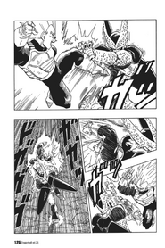 Super Vegeta vs Cell