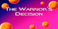 The Warrior's Decision