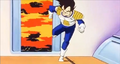 Zarbon's Mission - Vegeta's explosion rips by