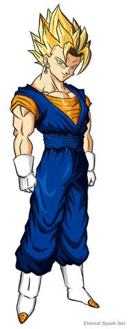 File:DBZ Super Saiyan Vegito by D3c3p7ioN.jpg