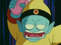 Pilaf about to attack Shu Ep30