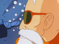Roshi and Launch's gun