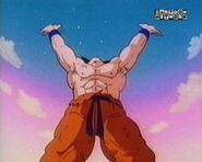 Goku prepare spirit bomb