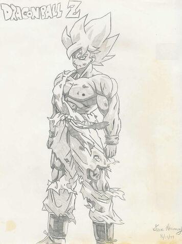 File:DBZ SS Goku Drawn by kaoscorp.jpg