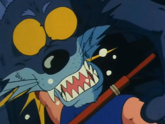 File:Goku punches a wolf.jpg
