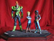 Android 16 17 18 statues a