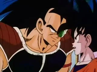 File:Goku and Radidz.png