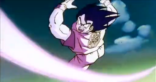 File:Gohan, Defeat Your Dad!! - Ginyu throws ki attack.png