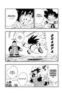 Goku and Grandpa Gohan reunited