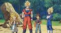 Gotenks Goku Vegeta discross