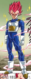 Super Saiyan God Vegeta full