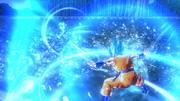 DBXV2 Super Saiyan Blue Goku Spirit Explosion (Evasive Skill)
