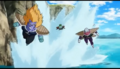 Frieza soldiers chases Krillin after the Desterctu Disk attack, Resurrection 'F', IsraeliteVIP pic snap