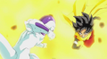Frieza attacks beat 0