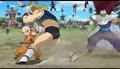 Krillin vs Frieza's Recoome-like soldier 01, Resurrection 'F', IsraeliteVIP pic snap