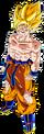 Render Dragon Ball Goku SSJ