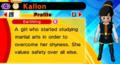DB Fusions Female Earthling Kallon (Character Profile)