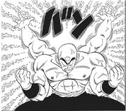 Tien produces two extra arms