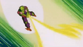Power of the Spirit - Piccolo attacking Frieza final