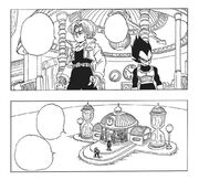 Trunks and Vegeta in the Hyperbolic Time Chamber