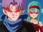 Bulla and Trunks under Baby's control