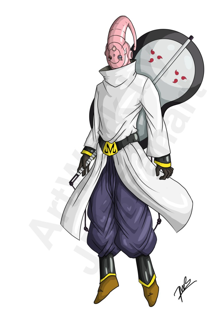 Image buubito buu and obito fusion potara by jmbfanart - Naruto and dragonball z ...