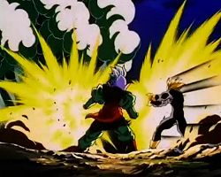 Arquivo:Gohan tries to destroy the cocoon.jpg