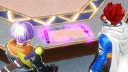 DBXV Future Trunks & Future Warrior examine the Scroll of Eternity 11-21-51