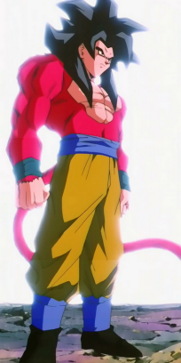 File:Super Saiyan 4th level Goku.png