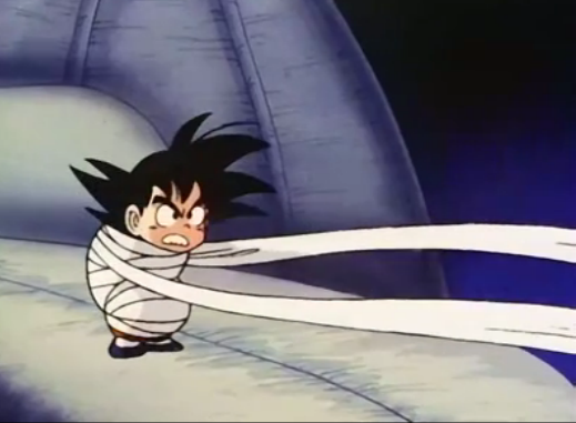 File:Kid goku bound in bandages12.png