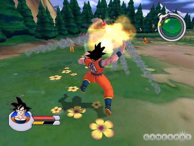 File:Goku Saibamen Sagas 2.jpg