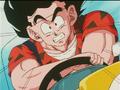 Goku driving