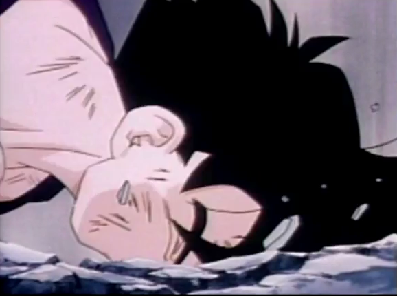 File:Gohan fells to ground dead and defeated after being killed by turles in plan to eadacte the saiyans2.png