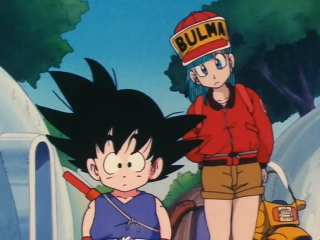 File:Goku and Bulma Looking In preists door.jpg