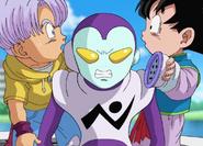 Dragon Ball Super Episode 20 Jaco's Galactic Reciever is not his Ear (Trunks, Jaco, & Goten)
