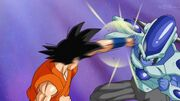 Goku-Vs-AssaultFormFrost