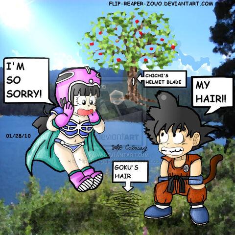 File:Dragonball Goku and Chichi 4 by Flip Reaper Zouo.jpg