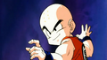 Krillin is ready to help out