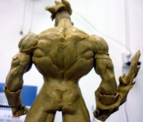 File:Pre-sculpt recoome modelkit c.jpg