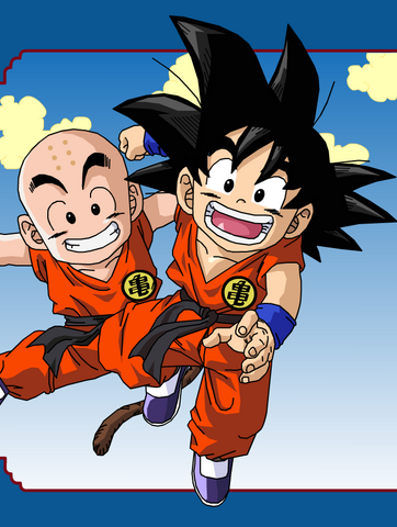 File:Goku and Krillin by eggmanrules.png